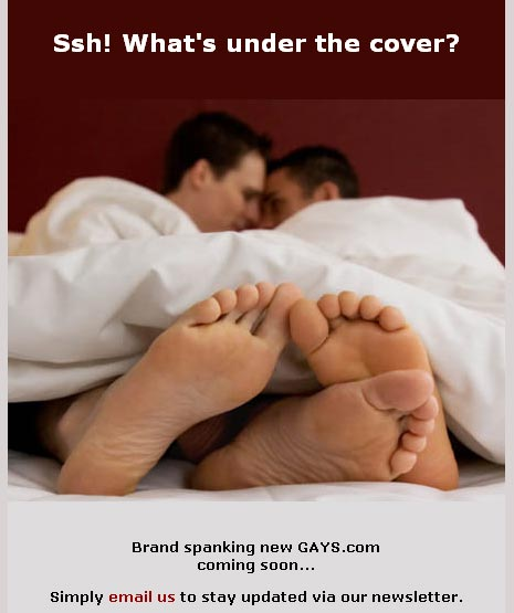 gay men in bed